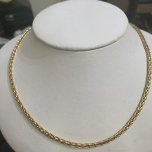 9 Carat Yellow Gold 18 inch Necklace