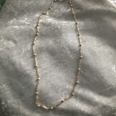 9ct Yellow Gold Ornate Necklace 30 inches
