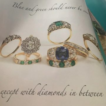 Mixing your Sapphires and Emeralds