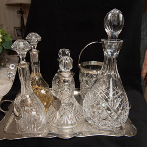 Various Victorian Decanters